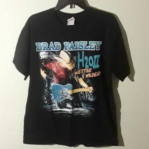 Brad Paisley tour tshirt